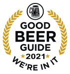 The Three Tuns Lower Halstow CAMRA Good Beer Guide 2021 Logo